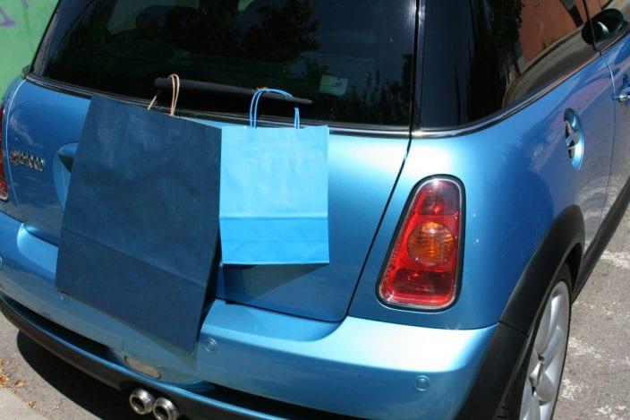 Bolsas de Papel Impresas Azul