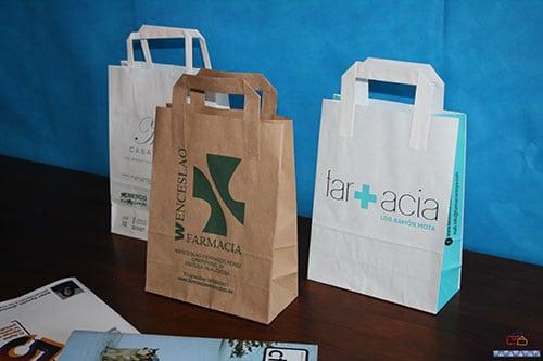bolsas de papel kraft personalizadas con tu logo
