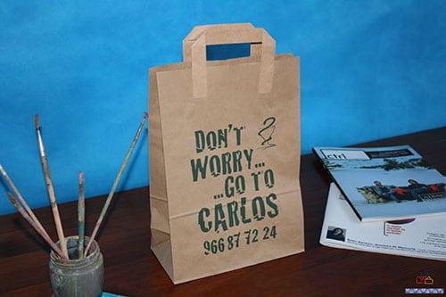 bolsas de papel kraft personalizadas al mejor precio