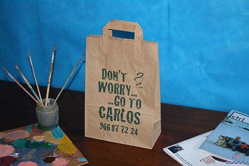 bolsas de papel kraft personalizadas a tu gusto
