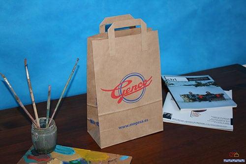 bolsas de papel kraft personalizadas baratas