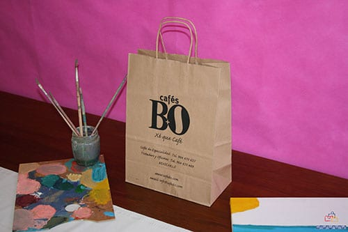bolsas de papel kraft personalizadas de excelente calidad