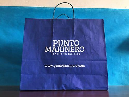 bolsas personalizadas para tiendas asa rizada