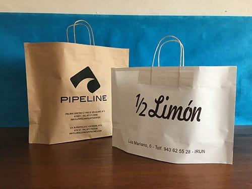 bolsas personalizadas para tiendas modelo newbag