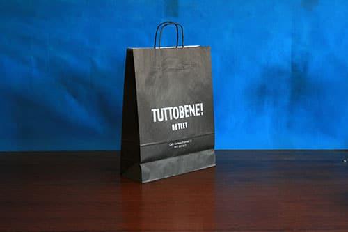 tienda bolsas de papel impresas