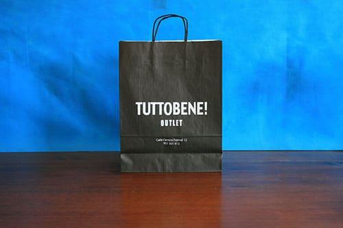 tienda bolsas de papel personalizadas