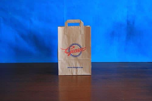 tienda bolsas de papel publicitarias