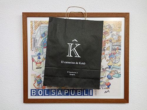 bolsas y papel con tu logo