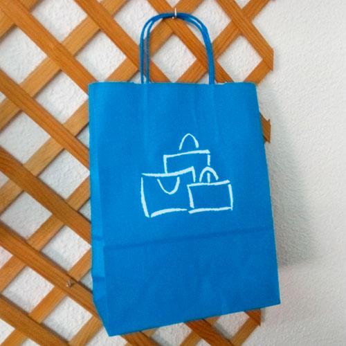 Bolsa Feminina Azul Turquesa : Bolsa de papel azul turquesa bolsasdepapel me
